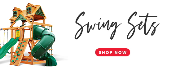 Shop our swing sets!
